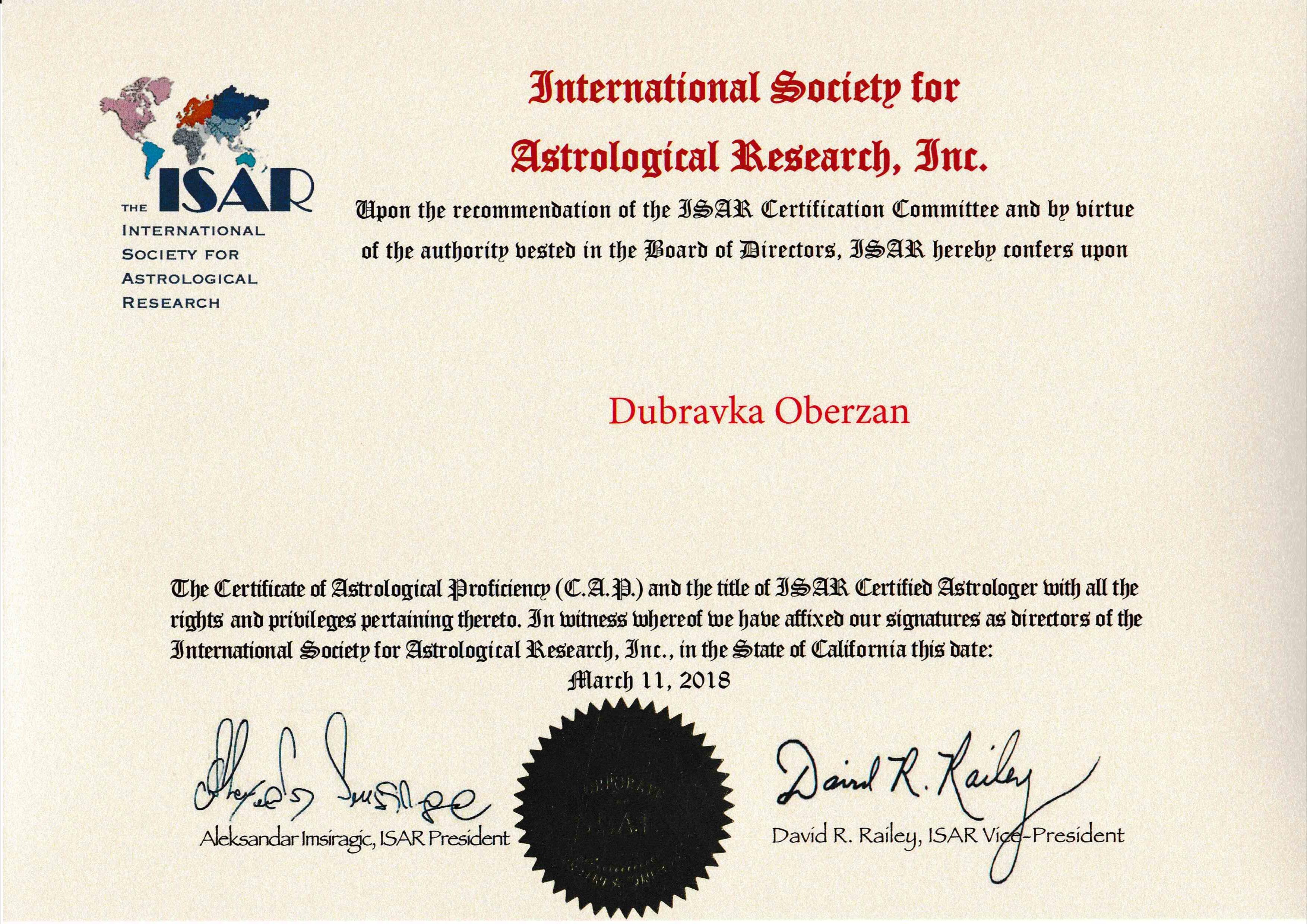 ISAR C.A.P.